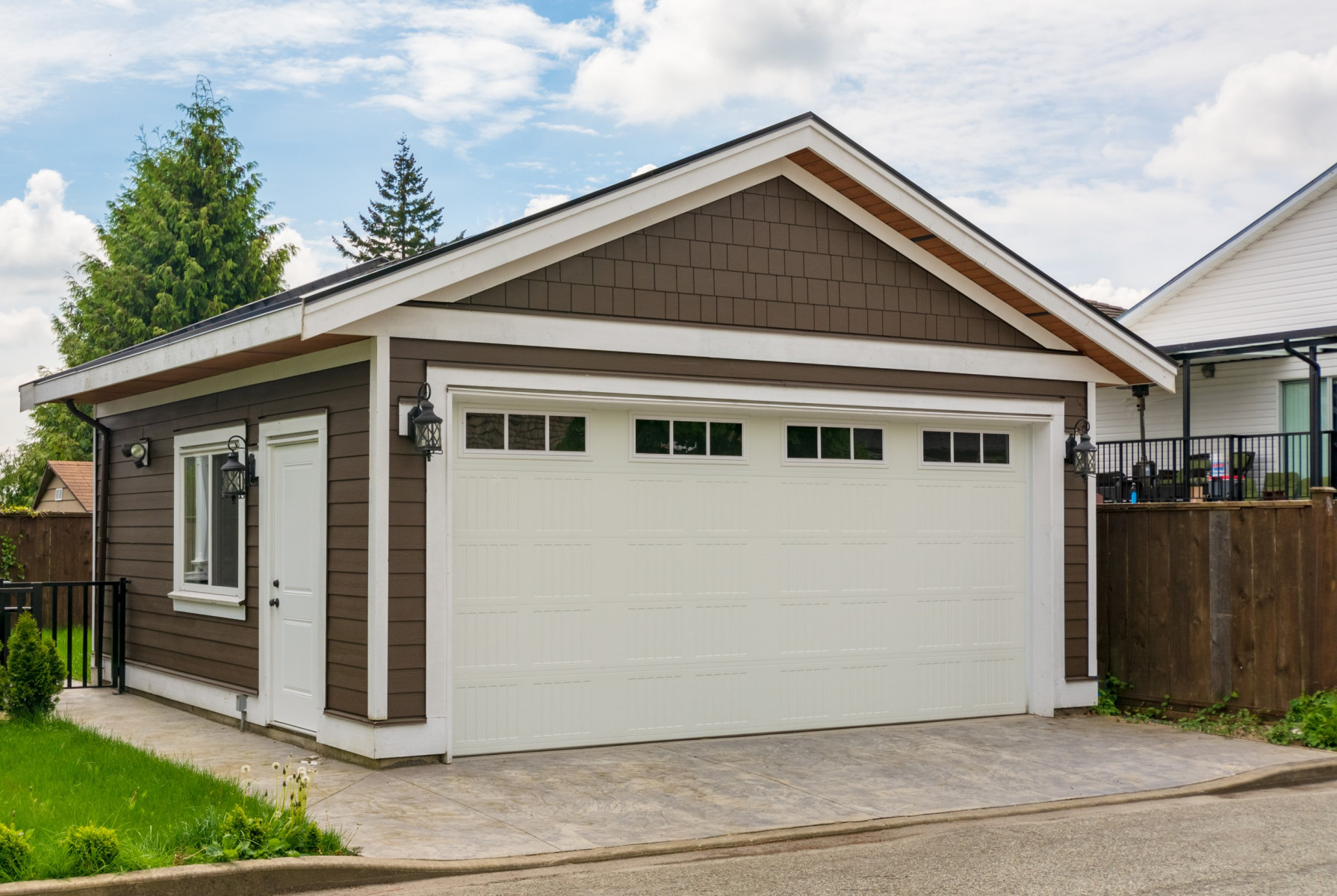 Two Car Detached Garage Builders In Chicago, How Much Is A 2 Car Detached Garage